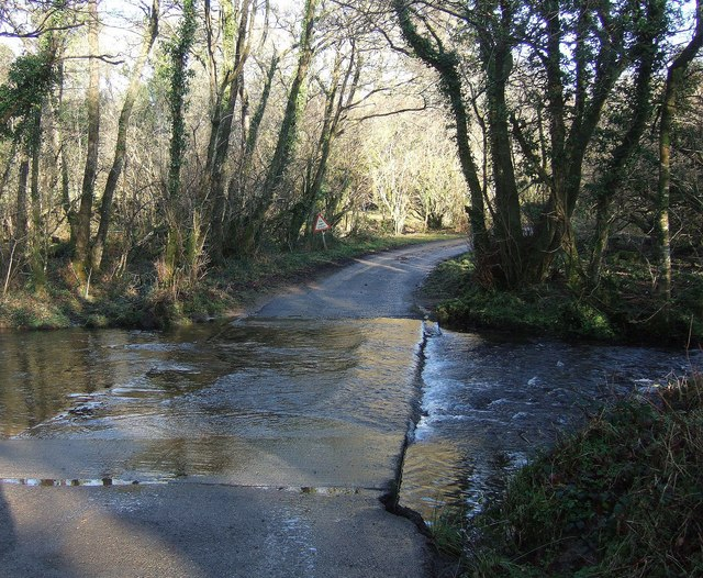 Ford across the Lynher