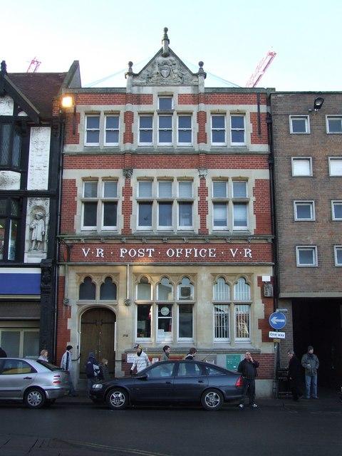 Post office Bury St.Edmunds