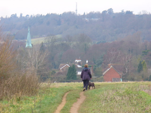 Footpath West of Manor Farm