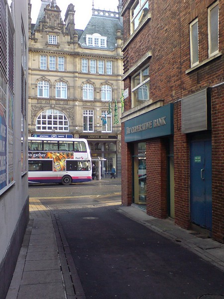 Fish Street, Vicar Lane and Kirkgate Market, Leeds