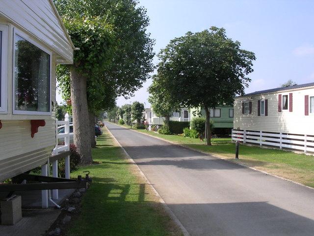 Caravans at Offenham Park