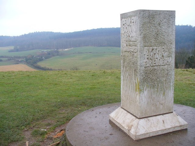 Memorial Stone, Pewley Down