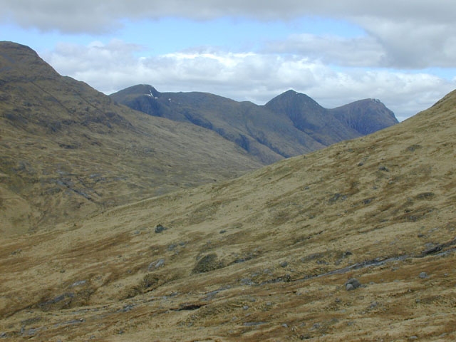 Slopes below the Coirean Riabhach