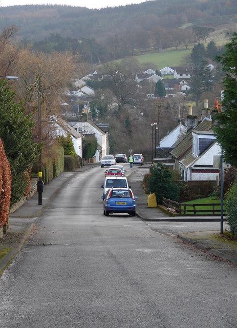 Uphill Gargunnock
