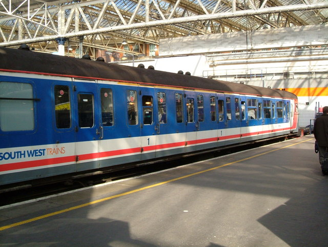 VEP on the blocks at Waterloo Station!