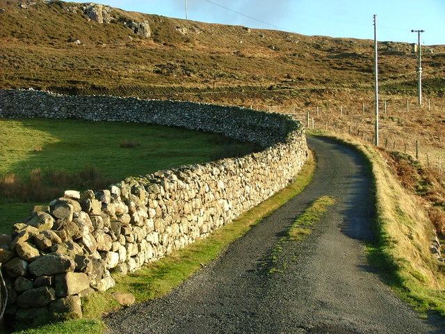 Drystane Dyke at Cuidrach