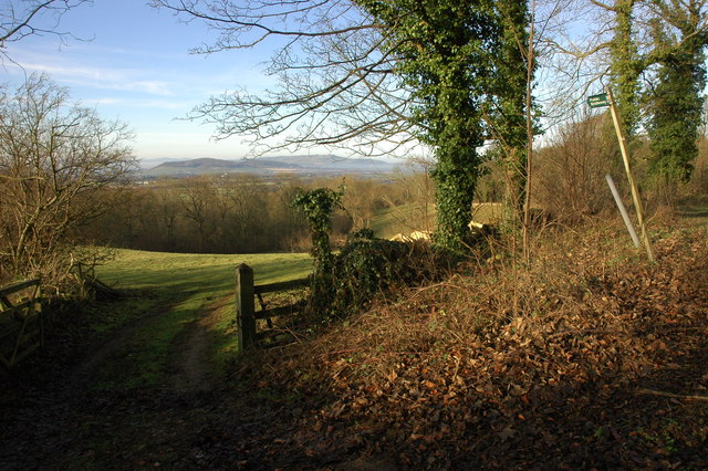 Footpath to Wood Stanway