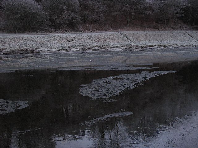 Ice on the Tweed