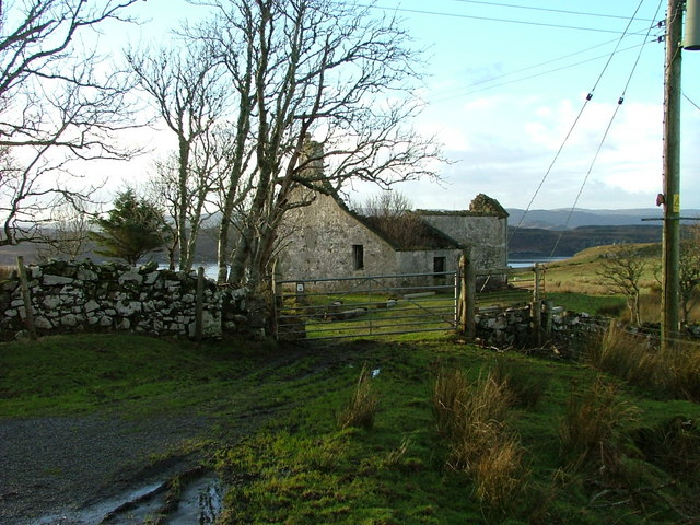 Ruined Crofthouse at Kingsburgh