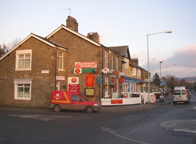 The post office, Caton