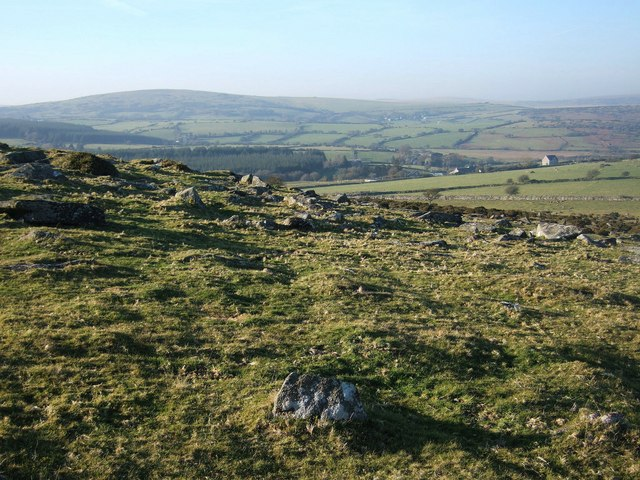 Moorland below Fox Tor