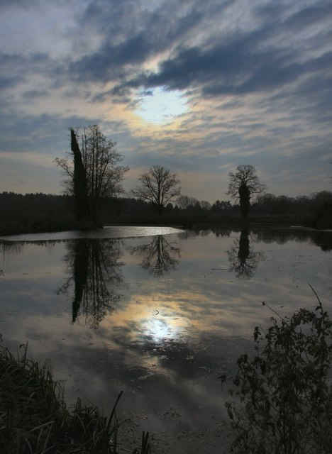 Reflections on Culford Lake