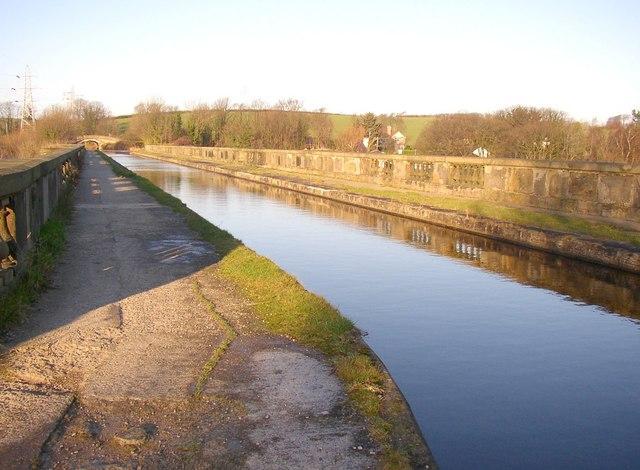 The Lune Aqueduct, Halton