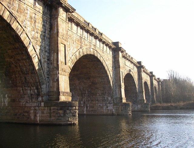The Lune Aqueduct. Halton