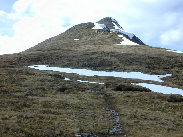 The east ridge of Stob Ban