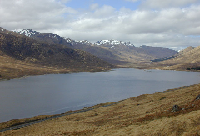 Mountainside north of Loch Cluanie