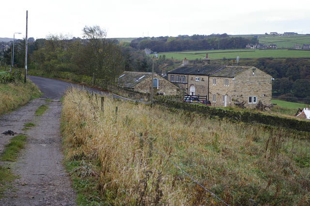 New Lea from Turley Cote Lane, Old Lindley