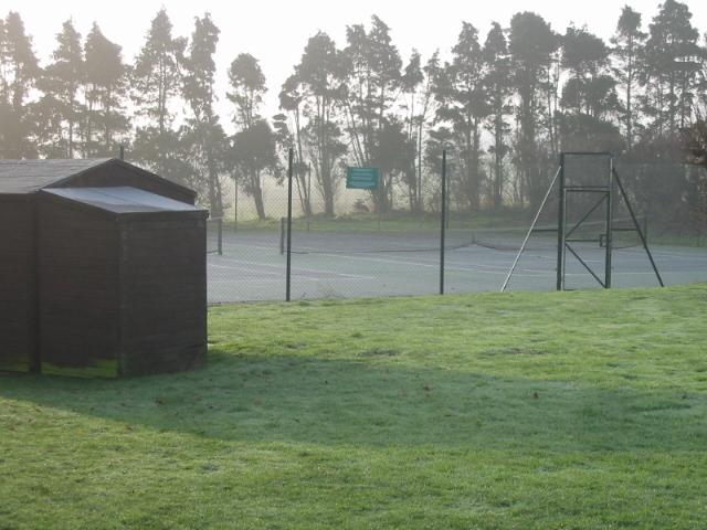 Tennis courts in recreation ground, Wingham