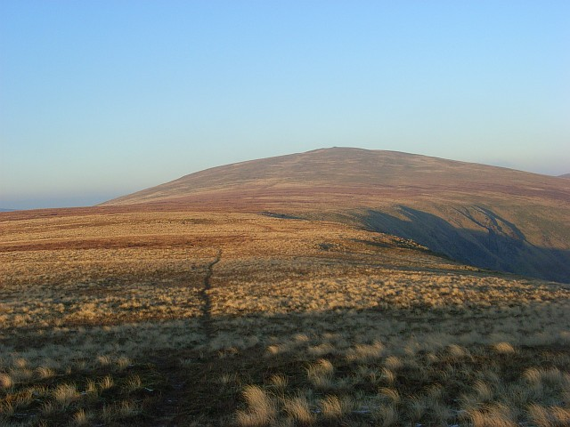 Col between Bowscale Fell and Bannerdale Crags