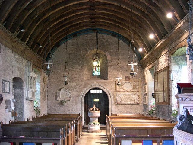 St Faith, Bacton, looking West