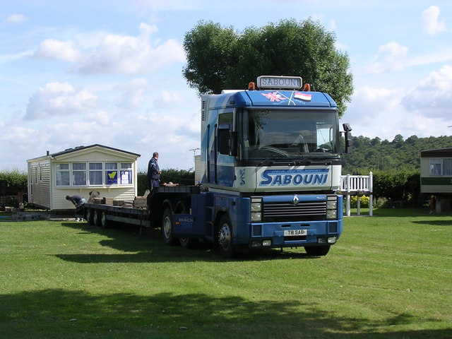 Delivery day at Offenham Park