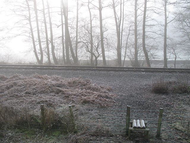 Shrewsbury to Swansea railway near Stowe