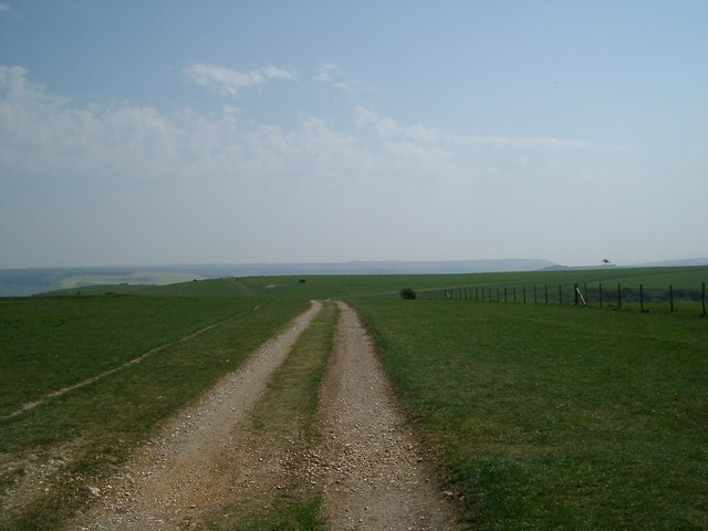 View from the top of Bo Peep Hill