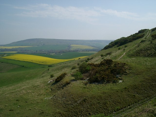 Looking towards Windover Hill