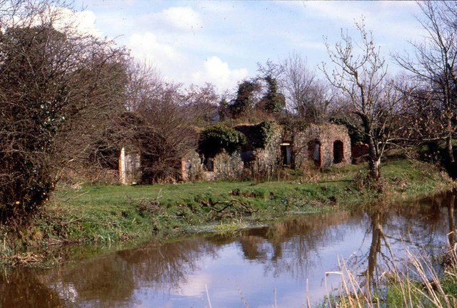 Old Mill Ruin, River Lagan