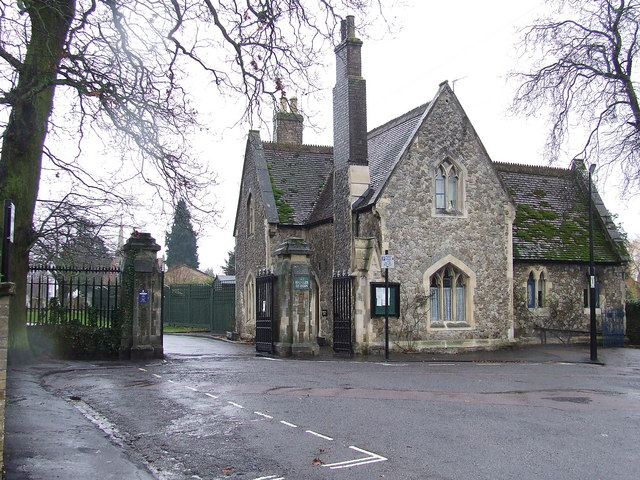 Former cemetery office