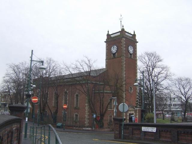 St Thomas's Church, Xmas Day 2007