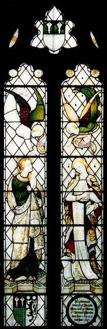 St Nicholas, Peper Harow, Surrey - Window