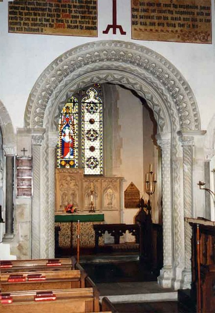 St Nicholas, Peper Harow, Surrey - Chancel Arch