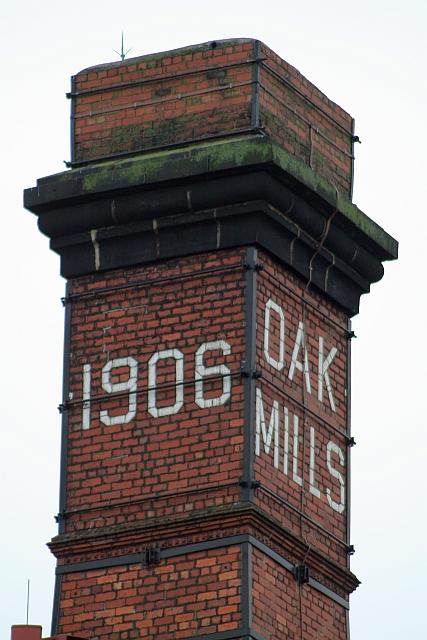 Top of Oak Mills Chimney