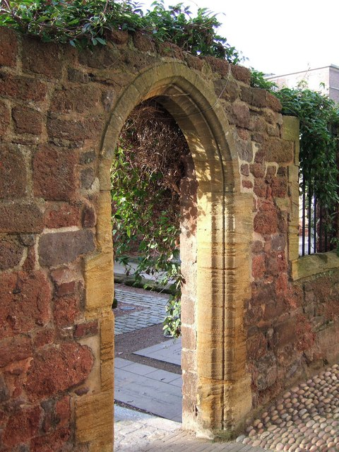 Doorway, St Catherine's Almshouses
