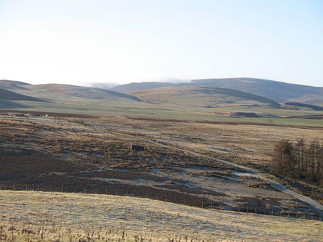 Lammermuir escarpment