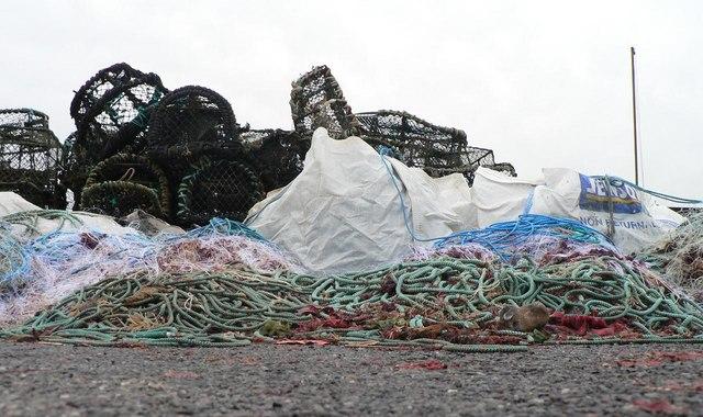 Mudeford: trawlermen's paraphernalia