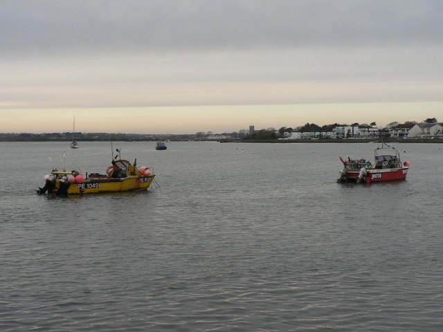 Christchurch Harbour on Christmas Day