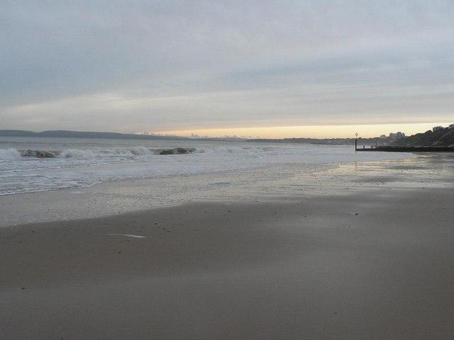 Boscombe: beach