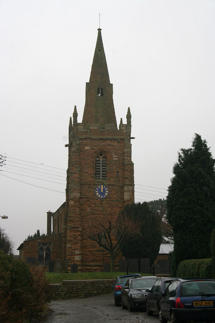 St Denys's Church, Eaton, Leicestershire