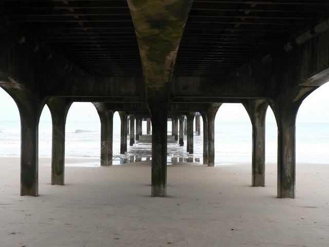 Boscombe: under the pier