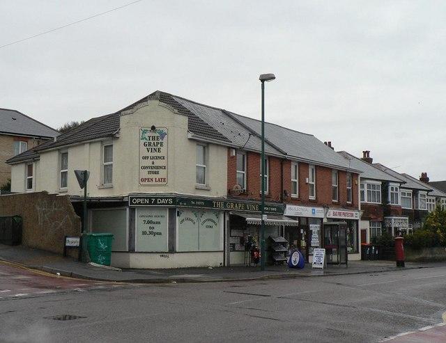Winton: Ripon Road shops