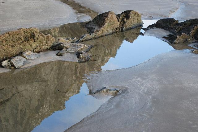 Traeth y Greigddu Dydd Nadolig 2007 – Black Rock Sands Christmas Day 2007