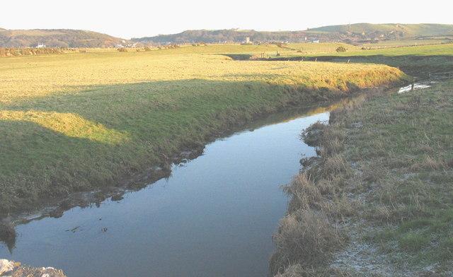 Afon Soch below Pont Towyn