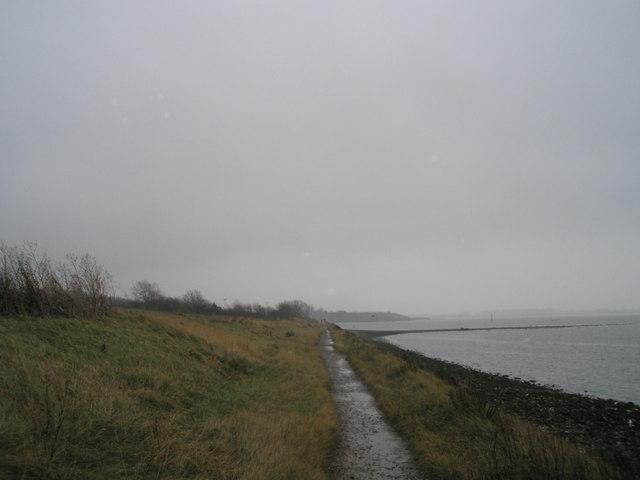 Looking eastwards towards Brockhampton