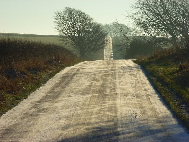 Road near Berrier