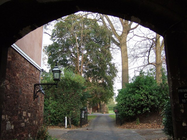 Approach to the Bishop's Palace, Exeter