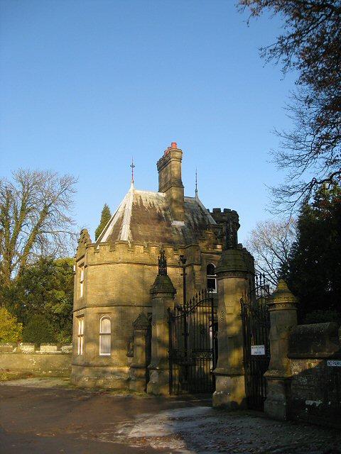 Gatehouse, Hornby Castle