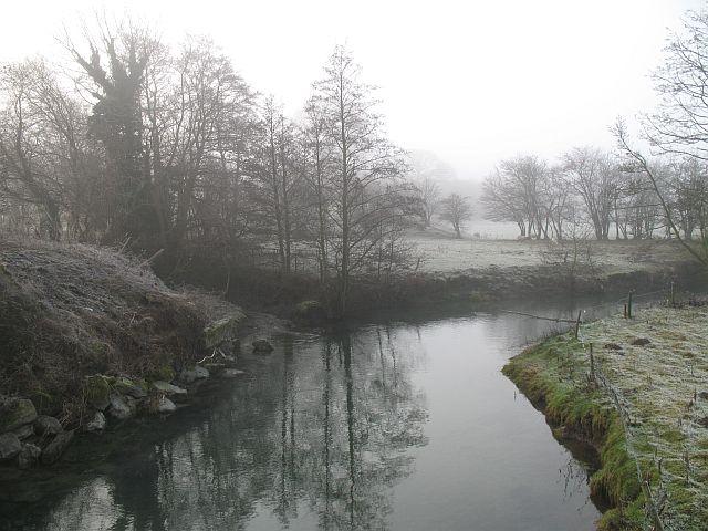 Upstream from Stowe Bridge