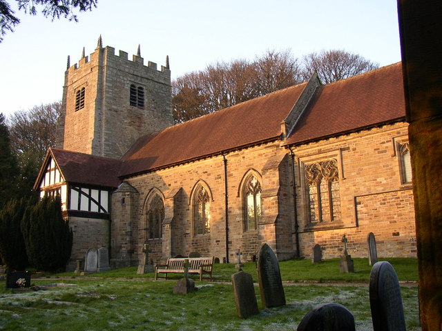 St Wilfrid's Church, Halton